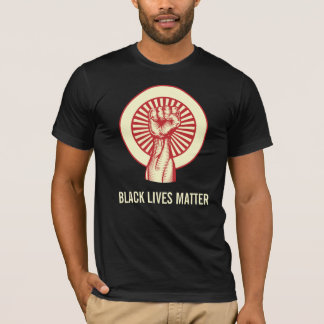 T-shirt Pièce en t noire de matière des vies