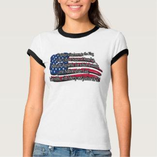 T-shirt Pièce en t patriotique de SERMENT DE FIDÉLITÉ