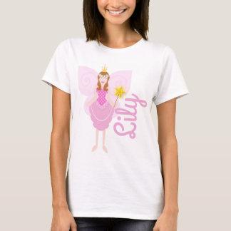 T-shirt Pièce en t personnalisable féerique assez rose de