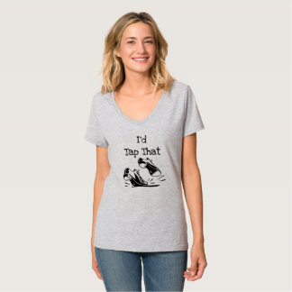 T-shirt Pièce en t personnalisée de danseur de claquettes