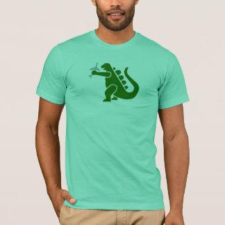 T-shirt Pièce en t plate de Dino