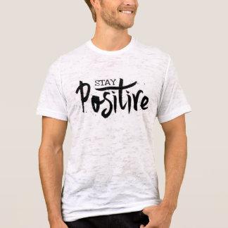 T-shirt Pièce en t positive de burn-out d'entrepreneur du