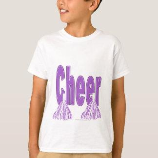 T-shirt Pièce en t pourpre d'enfants d'acclamation