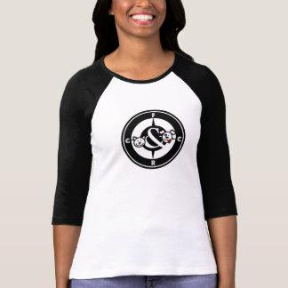T-shirt Pièce en t raglane de style de base-ball de FCRC