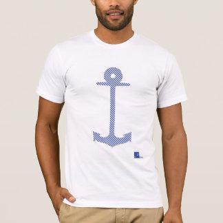 T-shirt Pièce en t rayée bretonne d'ancre
