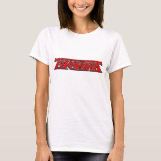 T-shirt Pièce en t rouge de logo de ZUKAHNAUT