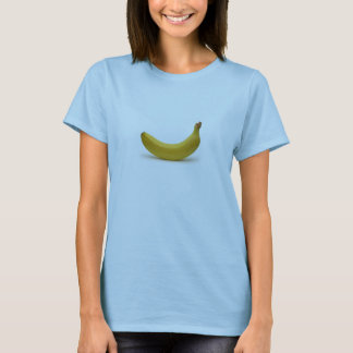 T-shirt Pièce en t simple de banane