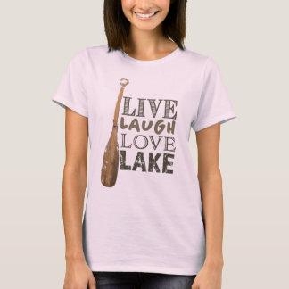 T-shirt Pièce en t simple de la vie de lac