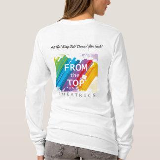 T-shirt Pièce en t simple de logo de FTTT