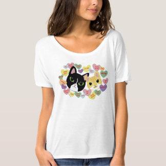 T-shirt Pièce en t Slouchy d'ami de Turbo et de Tilly Vday
