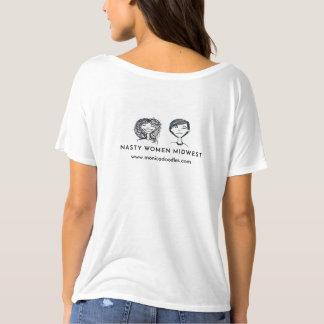 T-shirt Pièce en t slouchy de Monica Klasa RBG