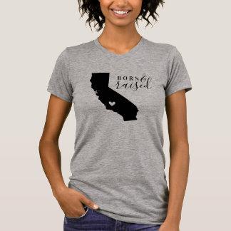 T-shirt Pièce en t soutenue et augmentée de la Californie