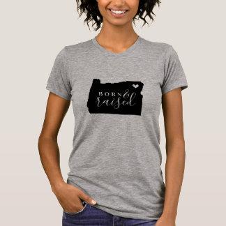 T-shirt Pièce en t soutenue et augmentée de l'Orégon
