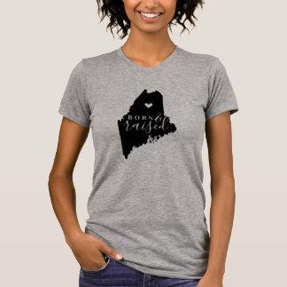 T-shirt Pièce en t soutenue et augmentée du Maine d'état