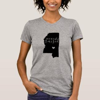 T-shirt Pièce en t soutenue et augmentée du Mississippi