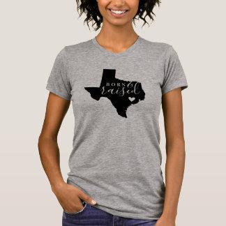 T-shirt Pièce en t soutenue et augmentée du Texas d'état