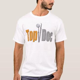 T-shirt Pièce en t supérieure de dentiste