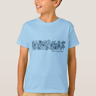 T-shirt Pièce en t surfante de ketmie de club de Lanai