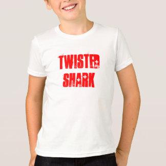 T-shirt Pièce en t tordue de penny de requin
