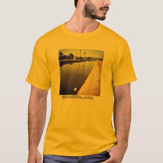 T-shirt Pièce en t unisexe de boule de canal