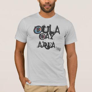 T-shirt Pièce en t unisexe de région de baie de Bula