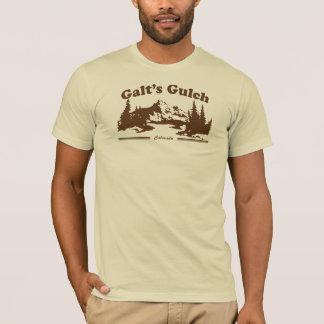 T-shirt Pièce en t vintage Brown de Gulch de Galt