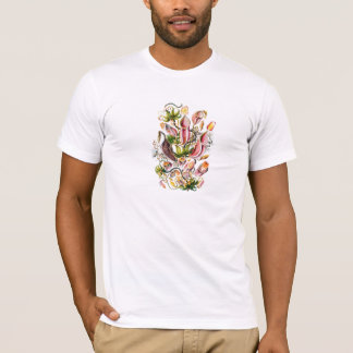 T-shirt Pièce en t vintage d'impression de l'usine