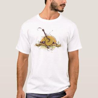 T-shirt Pièce en t vintage grunge de guitare de Truman