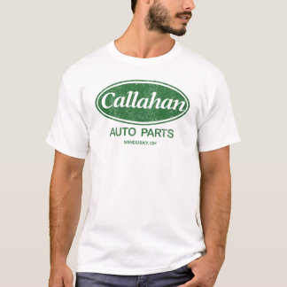 T-shirt Pièces d'auto de Callahan (regard vintage)