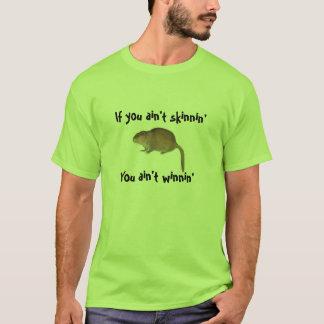 T-shirt Piégeage de rat musqué !