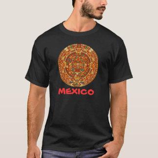 T-shirt Pierre aztèque de calendrier ou pierre de Sun du