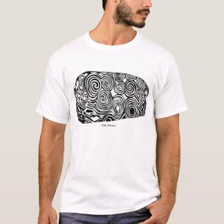 T-shirt Pierre tombale de Na Bóinne de Brugh