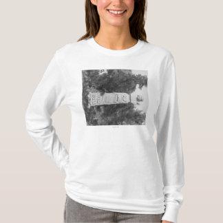 T-shirt Pierre tombale de Photograp grave de Bill Hickock