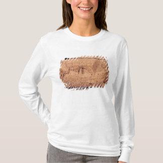 T-shirt Pierre tombale dépeignant un bateau de pêche