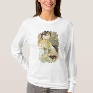 T-shirt Pierre un Renoir | Julie Manet avec le chat