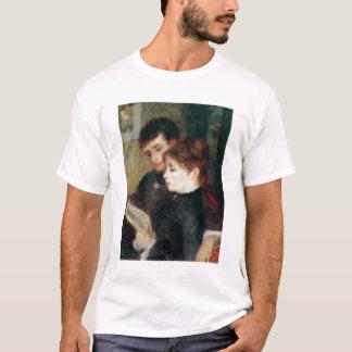 T-shirt Pierre une lecture de couples de Renoir |