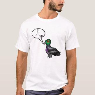 T-shirt Pigeon d'acide carboxylique