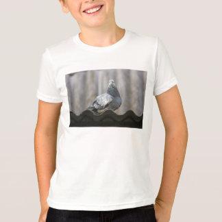 T-shirt Pigeon sur le toit