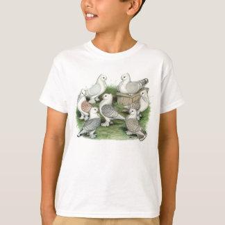T-shirt Pigeons classiques de vrille