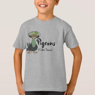 T-shirt Pigeons (je les aime)