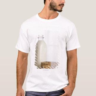 T-shirt Pile de lait de gâteaux aux pépites de chocolat