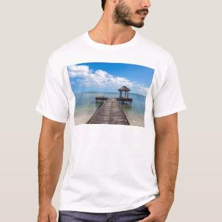 T-shirt Pilier dans le flac flic îles Maurice d'en d'océan