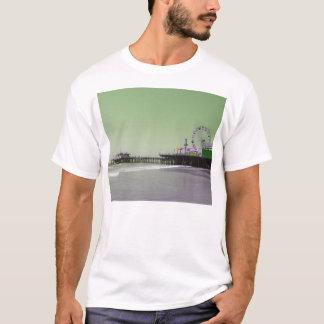 T-shirt Pilier pourpre vert de Santa Monica