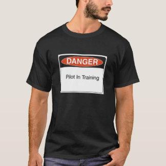 T-shirt pilote dans la formation