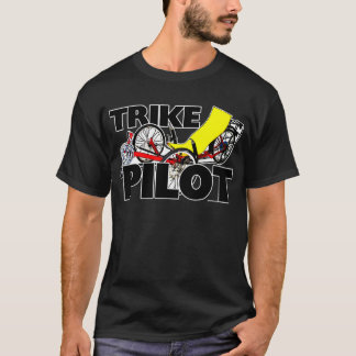 T-shirt Pilote de tricycle