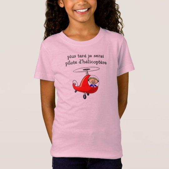 t-shirt pilote hélico