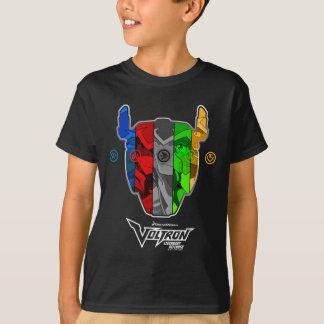 T-shirt Pilotes de Voltron   dans la tête de Voltron