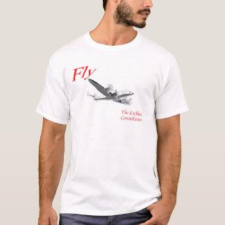 T-shirt Pilotez la constellation de Lockheed