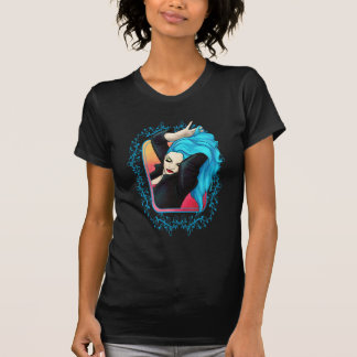 T-shirt Pin-up bleu vibrant