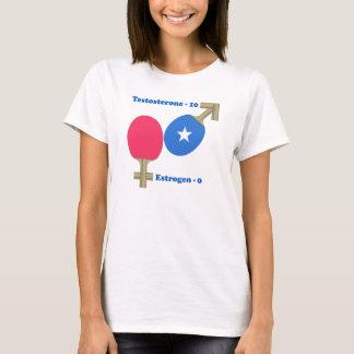 T-shirt Ping-pong de testostérone